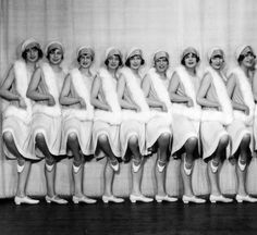 Picture gallery - Britain in the roaring twenties - Telegraph Tiller girls, London Plaza, 1928