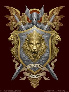 Coat of Arms- Delacroix by GoldenDaniel on DeviantArt