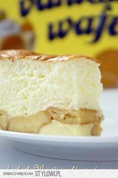 Składniki: 350 ml śmietany 250 g serka mascarpone Polish Desserts, Polish Recipes, No Bake Desserts, Delicious Desserts, Yummy Food, Polish Food, Baking Recipes, Cake Recipes, Dessert Recipes