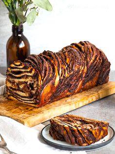 Babka Bread, Challah Bread Recipes, Baking Recipes, Dessert Recipes, Cake Recipes, Bon Dessert, Bread Baking, Sweet Recipes, Food And Drink