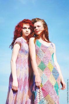 Vestido de squares colorido