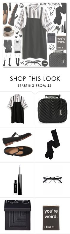 """""""School Girl"""" by anilovic ❤ liked on Polyvore featuring Yves Saint Laurent, Givenchy, Retrò and NARS Cosmetics"""
