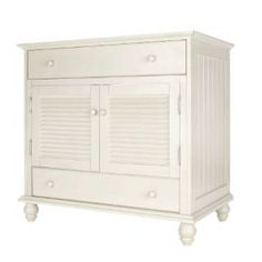 """Check out the Foremost CTAA3622D Cottage 36""""W Vanity Cabinet Only in Antique White priced at $759.38 at Homeclick.com."""