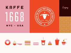 Kaffe 1668 Branding