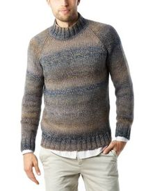 Pull homme col cheminée
