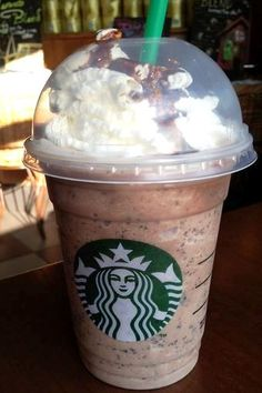 Coffee Crisp Frappuccino! Must try for fans of the chocolate bar! Recipe here: http://starbuckssecretmenu.net/starbucks-secret-menu-coffee-crisp-frappuccino/