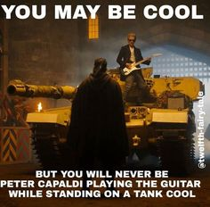 Yet another reason I fell in love with Capaldi's Doctor.