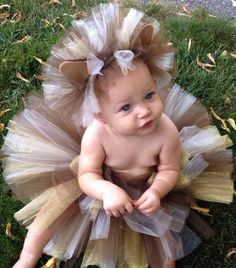 Adorable lion cub Halloween outfit