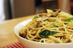 Ardanın Mutfağı Kremalı Mantarlı Spagetti