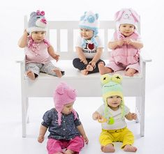 Zookeeper Hats - Bunny - Crochet pattern by Rae Blackledge-free patterns at Premier Yarns website