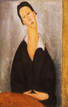 Amedeo Modigliani Portrait of a Polish Woman - The Largest Art reproductions Center In Our website. Low Wholesale Prices Great Pricing Quality Hand paintings for saleAmedeo Modigliani Amedeo Modigliani, Modigliani Paintings, Italian Painters, Italian Artist, Google Art Project, African Sculptures, Action Painting, Philadelphia Museum Of Art, Art Moderne