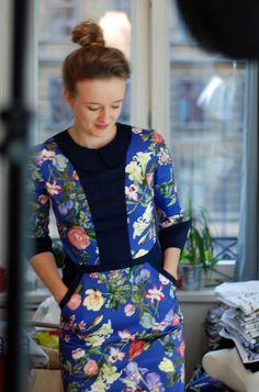 blossom dress by notoco.eu