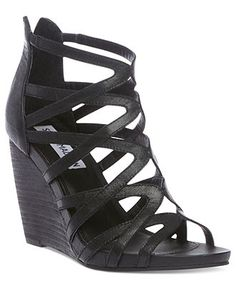 Steve Madden Shoes, Tricklee Wedge Sandals - Espadrilles & Wedges - Shoes - Macys