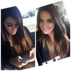 ❤ maite perroni hair
