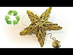 Cómo hacer estrellas tejidas de papel. Woven stars - YouTube