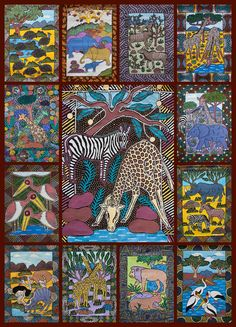 1000 Piece Jigsaw Puzzle from Hennessy Puzzles. Images by Zimbabwe Artists Project
