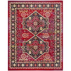 You'll love the Antoine Red/Blue Area Rug at Wayfair - Great Deals on all Rugs products with Free Shipping on most stuff, even the big stuff.