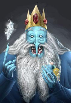 The Ice King by Albertvamphir