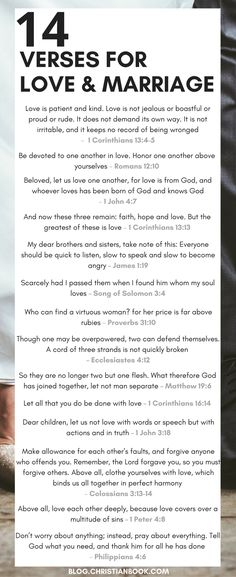 Whether you're recently engaged or soon to be celebrating a milestone wedding anniversary, here are some of the most valuable Bible verses about relationships, marriage and love. #bibledefinitionmarriage
