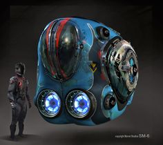 Astonishing GUARDIANS OF THE GALAXY concept art by Stephan Martinière « Film Sketchr