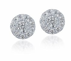 Diamond Studs Forever 3/4 Ctw Diamond Halo Earrings IGI USA Certified Screw Backs GH/I1 14K White Gold  http://stylexotic.com/diamond-studs-forever-34-ctw-diamond-halo-earrings-igi-usa-certified-screw-backs-ghi1-14k-white-gold/