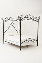 Italian Campaign Canopy Bed - Anthropologie.com