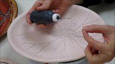 Ceramics II  Glazing the Platters