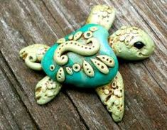 Image result for polymer clay sea turtle