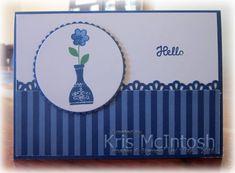 Varied Vases | Stamping with Kris