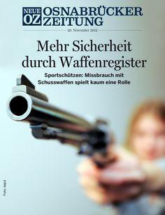 Jede Schusswaffe in Deutschland soll in einem zentralen Register gespeichert werden. Bringt das mehr Sicherheit? Unsere ipad-Ausgabe vom 20. November 2012.