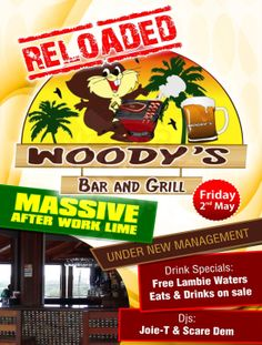 'AFTER WORK LIME' at Woody's Bar & Grill