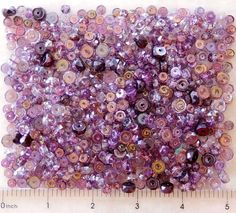 600 Amethyst Purple Lilac Mix Fire Polish Czech Glass Bulk Rondelle Disc Beads #PreciosaOrnela #FirePolished