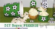 Hallo ihr Lieben, heute gibt es 2 FREEBIES für Euch passend zur Fussball EM! für alle Fussballfans und für alle, die noch schnell dekor...