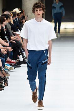 Neil Barrett showed his Spring/Summer 2017 collectionduring Milan Fashion Week.