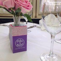@cleanyourashhole rockin' her custom Mix 'n Match Swarovski Crystal Poke A Bowl® Travel Box™ out to dinner! www.POKEABOWL.com - CLEAN YOUR ASH HOLE®