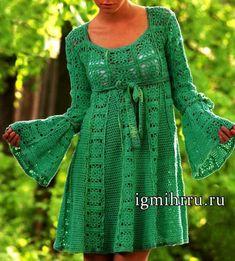 Transcendent Crochet a Solid Granny Square Ideas. Inconceivable Crochet a Solid Granny Square Ideas. Crochet Squares, Granny Square Crochet Pattern, Crochet Granny, Crochet Lace, Granny Squares, Striped Short Dresses, Short Sleeve Dresses, Turquoise Dress, Lace Jacket