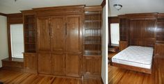 Create-A-Bed Wallbed: sells hardware kits to make your own Murphy bed.