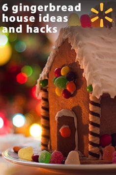 "Gingerbread houses. So fun and oh-so-festive. Even when they're a bit messy because your 6-year-old did most of the ""decorating,"" these traditional holiday treats are adorably edible. Learn more with tips, ideas and expert articles from Walmart and have a deliciously fun holiday."