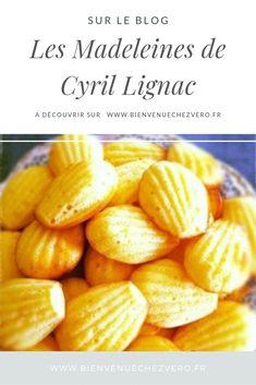 Madeleines de Cyril Lignac