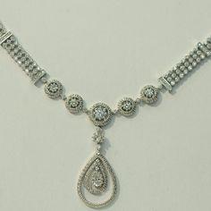 14kt White Gold Diamond Necklace DiamondJewelryNY http://www.amazon.com/dp/B00AVYEREU/ref=cm_sw_r_pi_dp_iSJWub0YGN1R1