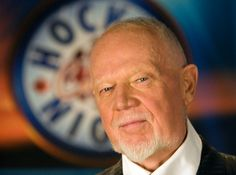 Don Cherry! Hockey Night In Canada! Don Cherry, Hockey Games, Montreal Canadiens, It Goes On, Boston Bruins, Looking Up, Nhl, The Man, Pride
