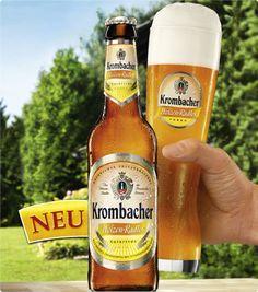#Produkttest: NEU - #Krombacher Weizen-Radler. Wir suchen 300 #Produkttester für das Erfrischungsgetränk. (Foto: Krombacher Brauerei)