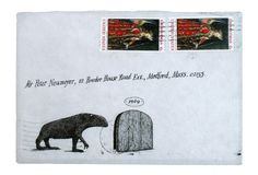 Floating Worlds: Edward Gorey's Never-Before-Seen Letters and Illustrated Envelopes | Brain Pickings