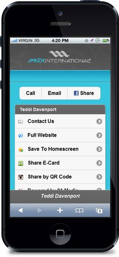 Dallas mobile apps and mobile websites 91 media website design max international business cardssocial media reheart Choice Image