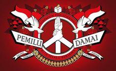 """Pemilu Damai"" Ingat, Pemilu ini dilaksanakan bukan untuk memecah belah bangsa, tapi untuk membawa bangsa kita menjadi lebih baik. Jadi siapapun pilihannya tetap ingat kalau kita berdiri di tanah yang sama, Tanah Air #Indonesia. #pilpres2014"