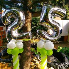 Pequenos apontamentos que fazem a diferença. #25anos #baloon #balões #troll #trolleventos #eventos #birthday #25birthday #foil #balloon #foilballoon #green #grey #garden #home #casa #covid19 #quarentine #quarentena #coronavirus #events #balloonart #murtosa #mrs Troll, Birthday Candles, Home, Corona, Events, Ad Home, Homes, Haus, Houses