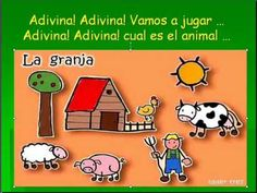 Adivina! La granja de los animales. My students  love to sing and dance with this song.