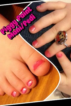 At home Mani/Pedi Musts for kids