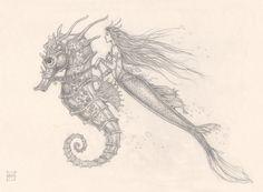 Aaron Pocock, Mermaid and Seahorse