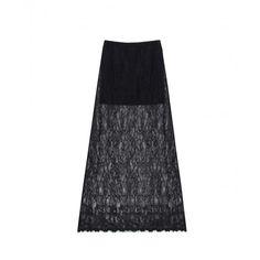 Long lace skirt  winter collection  bel air paris shop now www.belair-paris.fr/